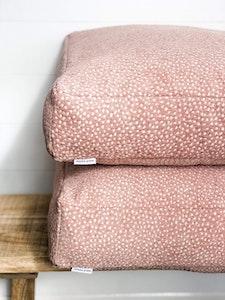 Floor Cushion Cover - Blushing Fawn
