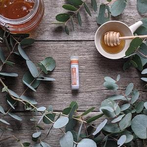 Manuka Honey · Blood Orange Lip Balm Tube [LB3]