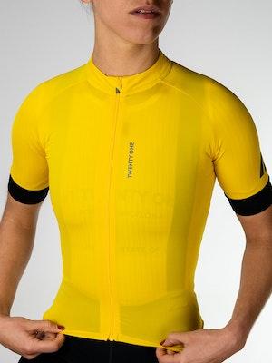 Twenty One Cycling Factory Midweigh jersey - Gold - Women
