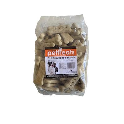 Australian Pet Treats APT Chicken Baked Biscuit  Dog Treats 1kg