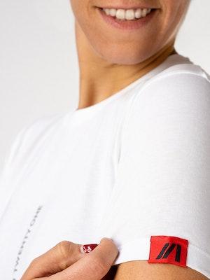 Twenty One Cycling Urban Organic Limited Edition t-shirt - Snow - Women