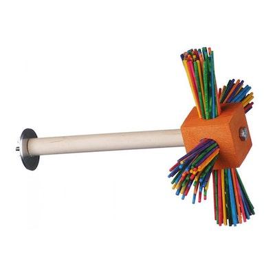 SuperBird Spin-A-Roo Perch Bird Toy Assorted 21 x 16cm