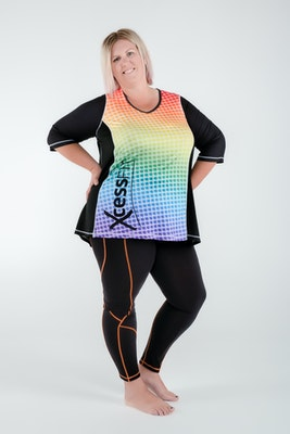 XcessFIT XcessFIT Women's Swing Top - Chromatic