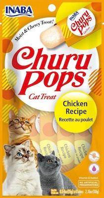 INABA Churu Pops Chicken Recipe Cat Treats