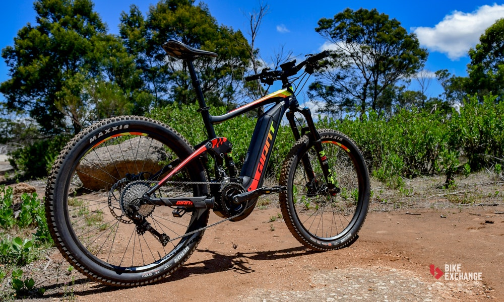 giant full e electric mountain bike review bikeexchange 28 jpg. Black Bedroom Furniture Sets. Home Design Ideas
