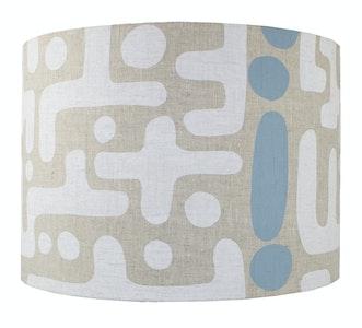 bob window Mono lampshade - Pastel Blue