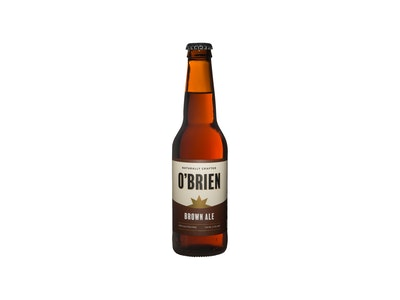 O'Brien Gluten Free Brown Ale Bottle 330mL Case