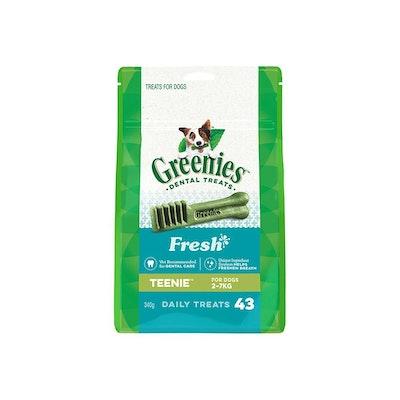 Greenies Freshmint Teenie 340G 43PCS