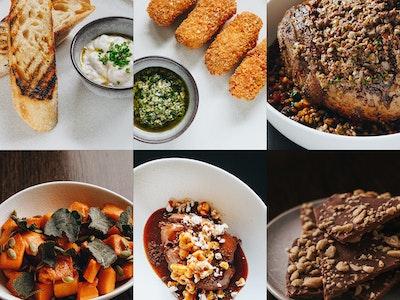 Roast Lamb Feast (feeds 2) ($80pp)