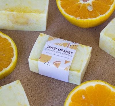 Symbolic Studio Handmade Organic Soap - Sweet Orange