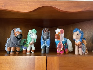 My Little Pony x Dungeons & Dragons Figures