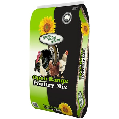 Green Valley Open Range Poultry Food Mix Pellet - 2 Sizes