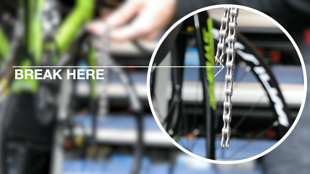 How to Fit and Change a Chain BikeExchange 2017 Chain length break