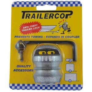 Trailer Cop Caravan and Trailer Coupling Lock