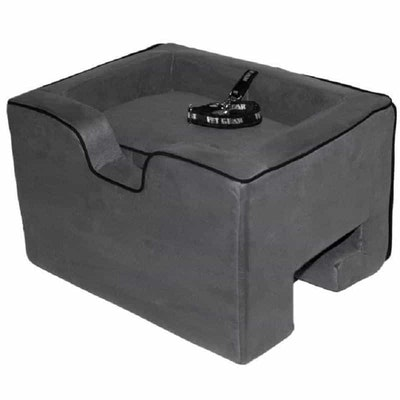 """Pet Gear Car Booster Seat Charcoal 15"""""""