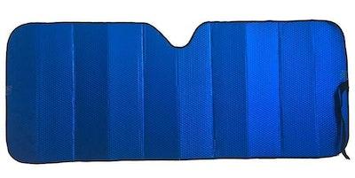 Premium Sun Shade [147cm x 68.5cm] - MATT BLUE