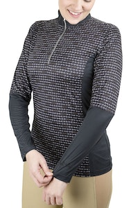 Equine Couture Equicool Snaffle Sport Shirt