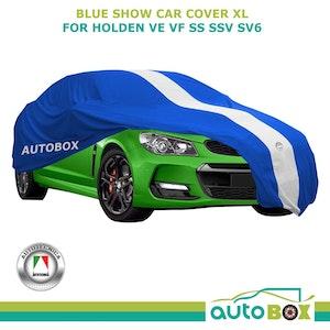 Blue XL Show Car Cover for Holden VE VF SS SSV SV6 Sedan UTE Washable Softline