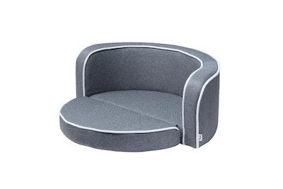 House of Pets Delight 2in1 Pet Bed Sofa Foldable Cushion Fabric Luxury