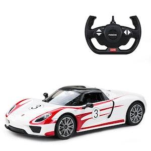Rastar Licensed 1:14 Radio Control Car - Porsche 918 Spyder