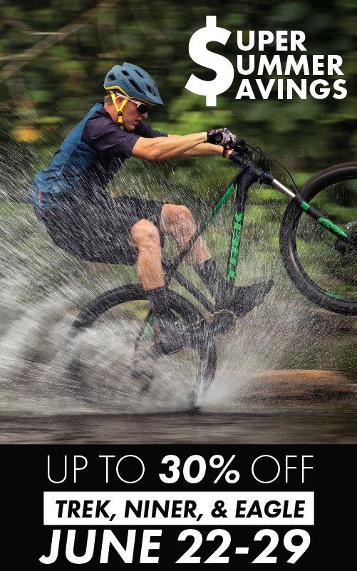 Tri Bike Run Super Summer Savings 30% off Mountain Bikes