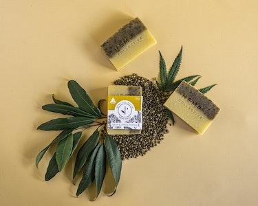 Hemp Collective Hemp & Lemon Myrtle Nourishing Soap