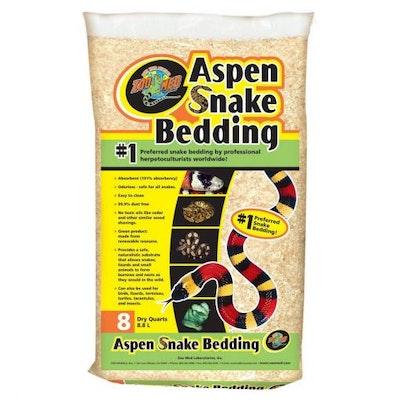 ZooMed Aspen Snake Bedding - 8 Quart (8.8ltr)