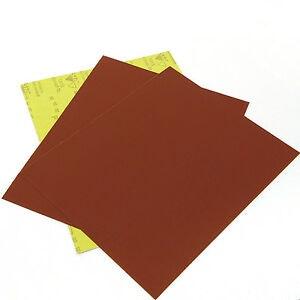 Wet & Dry Sandpaper Sheets 230 x 280 - Packs of 50