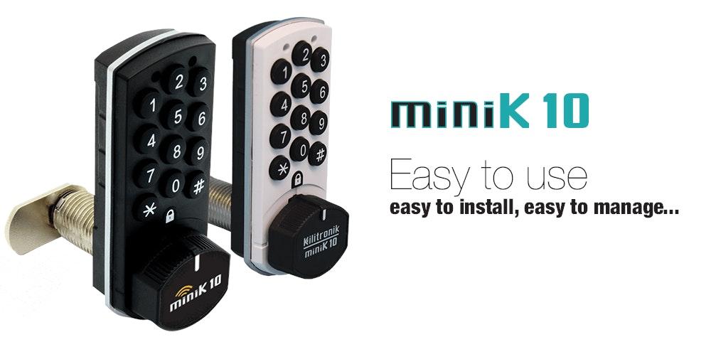Ksq Minik10 Digital Electronic Cam Lock With 10 Year