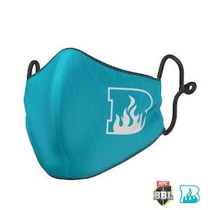 Brisbane Heat Face Mask - Big Bash League
