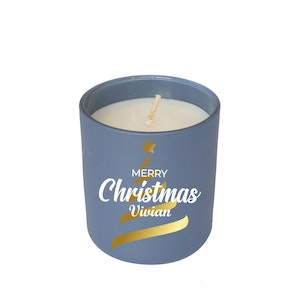 Symbolic Studio Christmas Navy Blue - Hand Poured Soy Candle