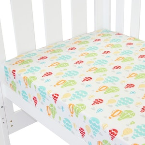 Babyhood Amani Bebe Fitted Sheet Up In The Sky