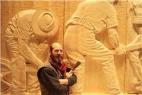 Chips fly as driven Greg Duncan carves Wilderness tribute Wall