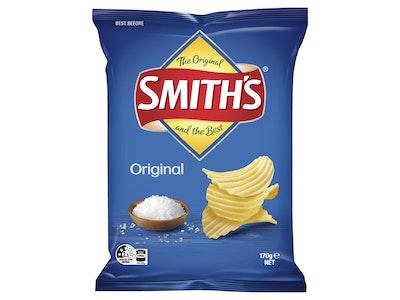 Smith's Crinkle Cut Original Potato Chips 170g