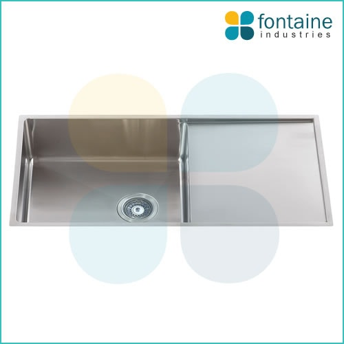 Toronto Single Sink With Drainer