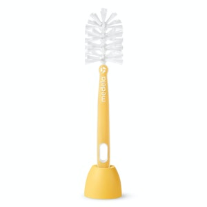Medela Quick Clean Bottle Brush | Easily Clean breastmilk Bottles | Comes with Stand for Easy Drying