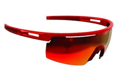 Avenger Sport Glasses - Metalic Red  Smoke Lens  - BSG-57-RE-NS