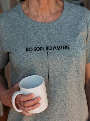 No Gods No Masters Logo T-Shirt