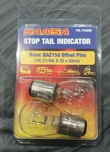 Hansa Stop Tail Indicator Baz15d Offset Pins (X6 Globes)