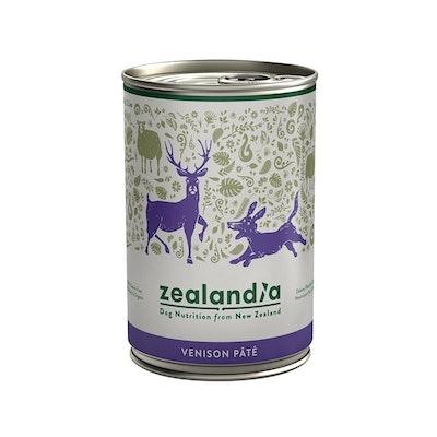 ZEALANDIA Venison Pate Dog Wet Food 385g