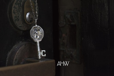 AHW Studio - 'Skeleton Key' Pendant