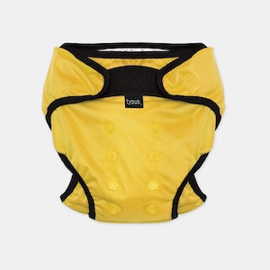 Swim Nappy + Wet Bag - Yellow