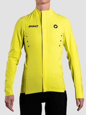 Black Sheep Cycling Women's Elements Micro Jacket - Yellow