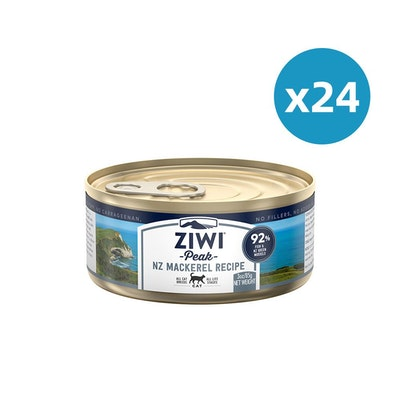 ZiwiPeak ZIWI Peak Cat Mackerel Recipe Can 85G X 24
