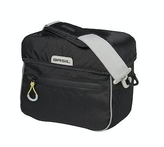 Basil Miles Handlebar Bag 6L Black Lime