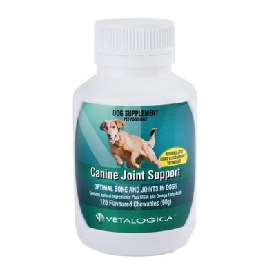 Vetalogica Canine Joint Support Dog Supplement 120 Pack