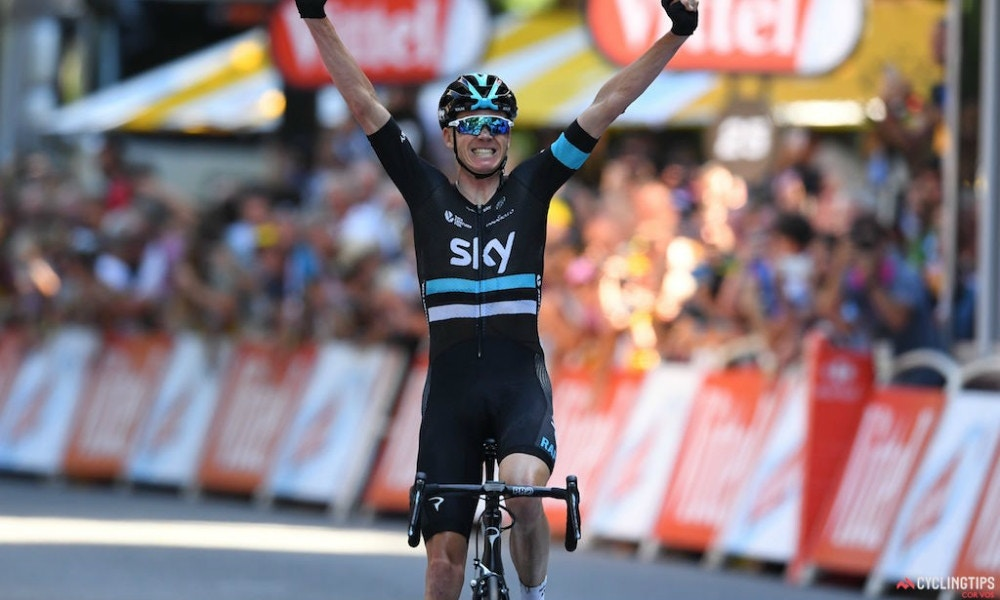 Defending Champ Solos to Tour de France Stage Win