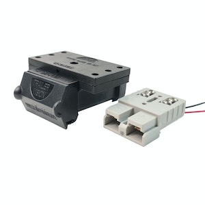 Trailer Vision 50 amp Anderson Plug Top Mount Connector Assembly with Screw Contact Plug