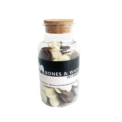 Bones & Whiskers Doggy Yoghurt & Carob bottle