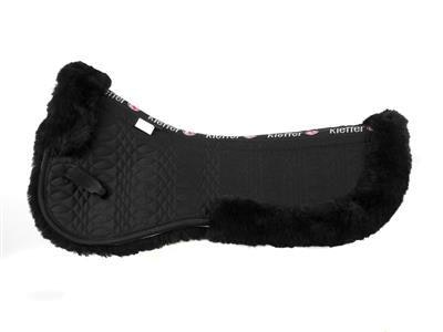 Kieffer Pad Merino Fleece Half Black